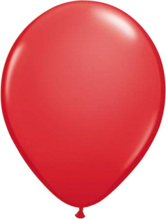 Rode ballonnen 30cm - 100 stuks