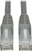 Tripp Lite N201-002-GY netwerkkabel 0,61 m Cat6 U/UTP (UTP) Grijs