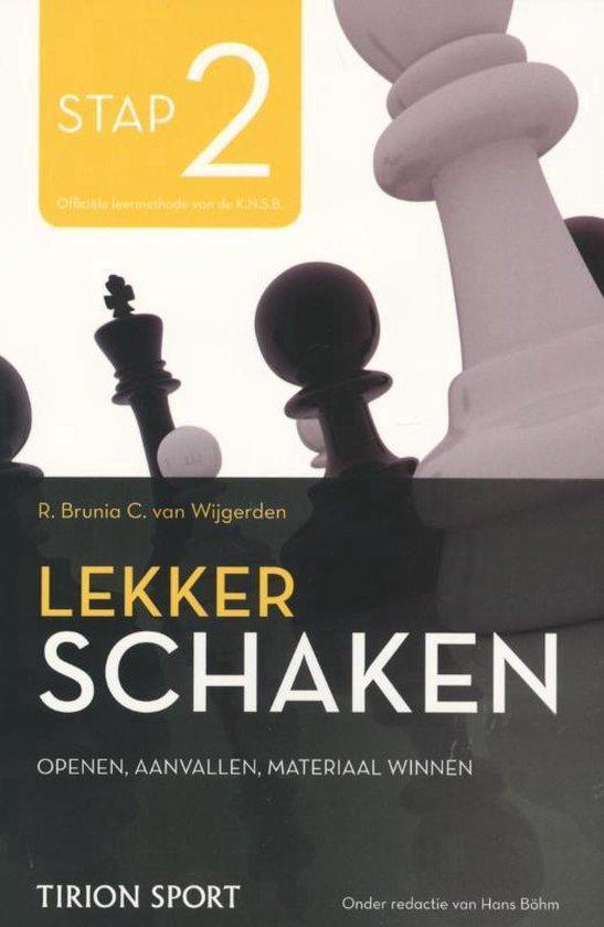 Lekker schaken stap 2 openen/aanvallen/materiaal winnen - Cor van Wijgerden |