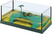 Ferplast schildpad terrarium haiti 50 grijs