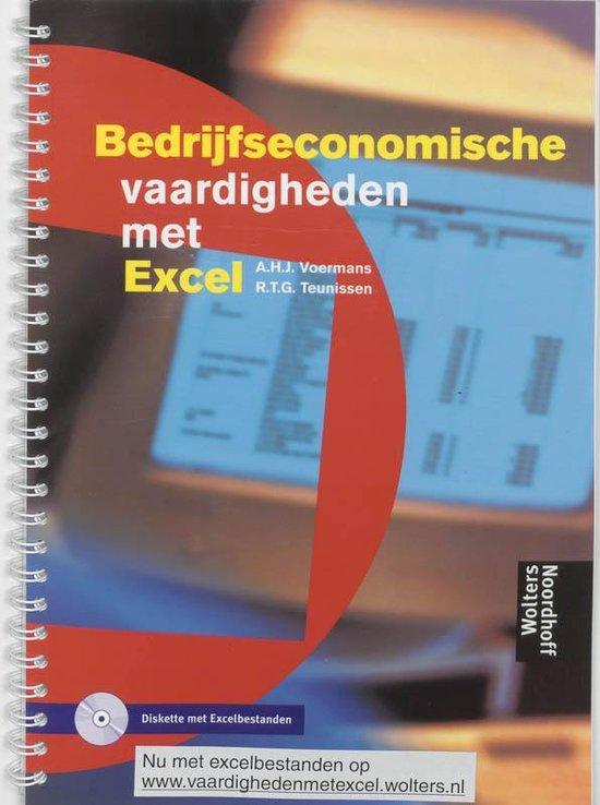 Bedrijfseconomische vaardigheden met Excel + diskette - A.H.J. Voermans pdf epub