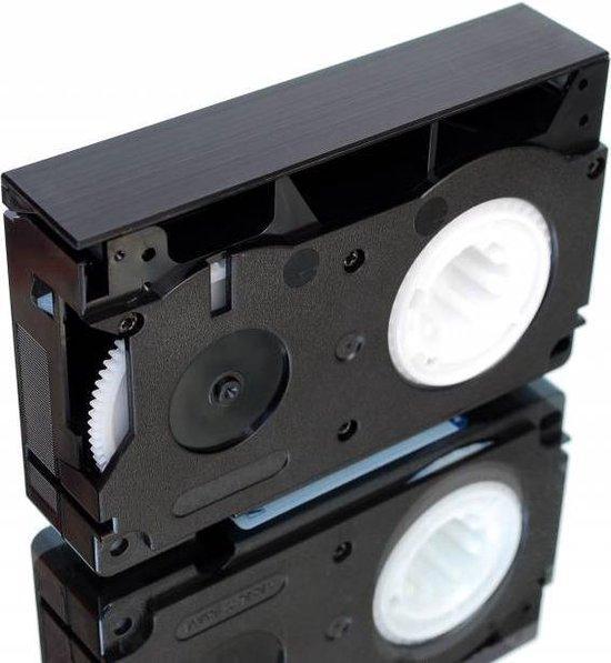 Philips VHS-C bandjes - camera tape - video bandjes voor VHS-C camera - 4 stuks