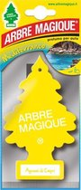 Arbre Magique Auto Luchtverfrisser - Wonderboom - Geurverfrisser - 6 Stuks - Luchtverfrissers voor de Auto - Geurboom -