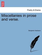 Miscellanies in Prose and Verse.