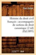 Histoire Du Droit Civil Fran ais