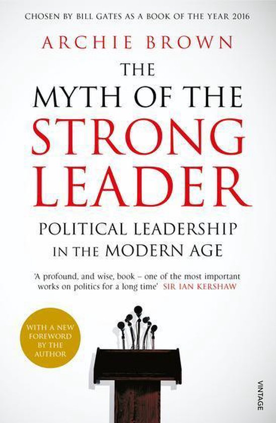 Boek cover The Myth of the Strong Leader van Archie Brown (Onbekend)