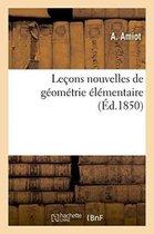 Lecons Nouvelles de Geometrie Elementaire