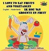 I love to eat fruits and vegetables ik hou van groente en fruit