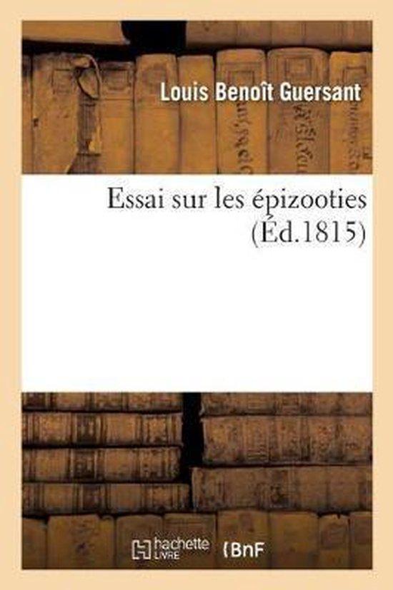 Essai Sur Les Epizooties