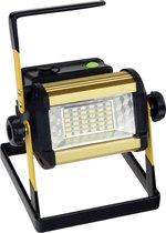 QY 50W LED Bouwlamp Floodlight Outdoor - 1200 Lumen Daglicht – oplaadbaar – met gevarenlamp functie