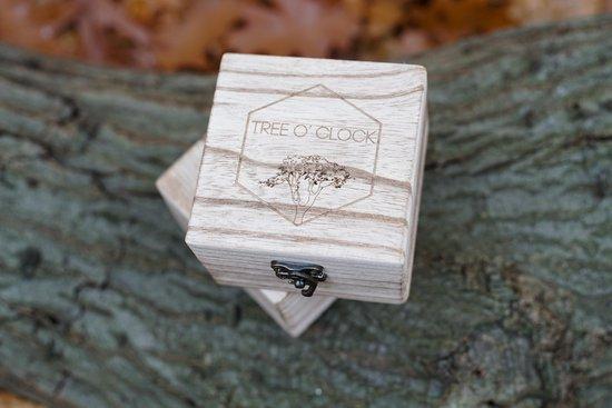 Tree O' Clock | Houten Horloge Dames |Rwanda