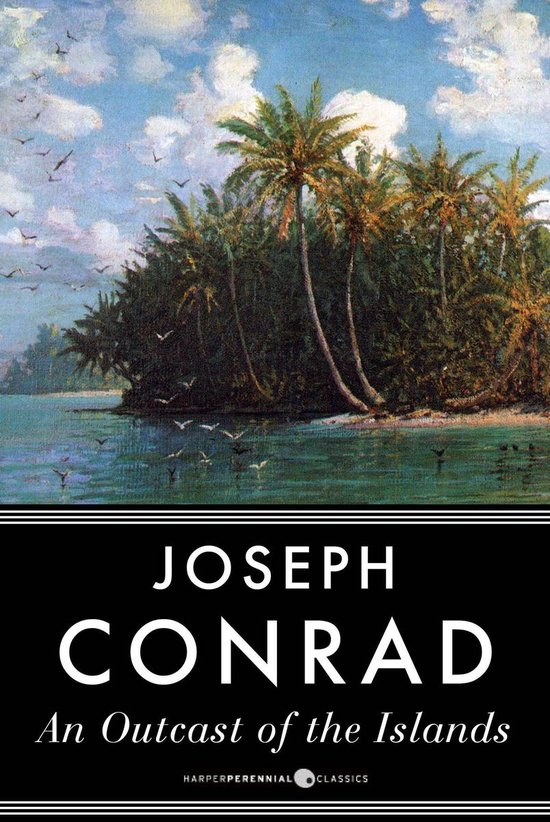 Boek cover An Outcast of the Islands van Joseph Conrad (Onbekend)