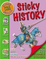 Little & Large Sticker Activity - Sticky History