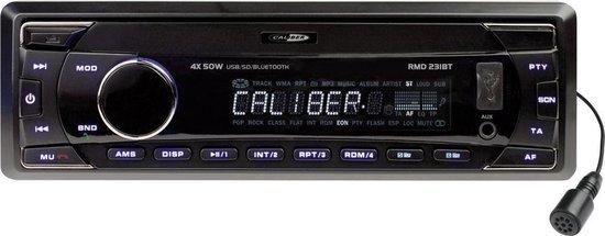 Caliber RMD231BT - Autoradio - Bluetooth  - 1 din - Zwart