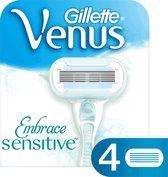 Venus Embrace Sensitive 4 stuks scheermesjes RF