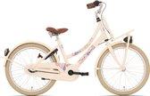 Kinderfiets Bike Fun Love&Peace meisjes 20 inch nexus 3 cream