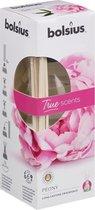 Geurstokjes 45ml PEONY   True Scents Bolsius   Long lasting fragrance   geurverspreider