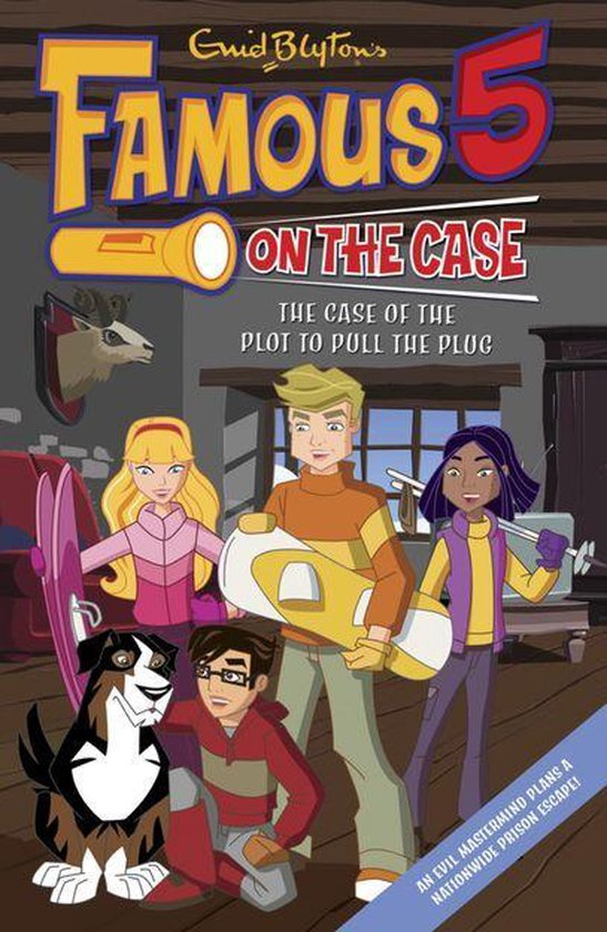 Famous 5 on the Case: Case File 5: The Case of the Plot to Pull the Plug