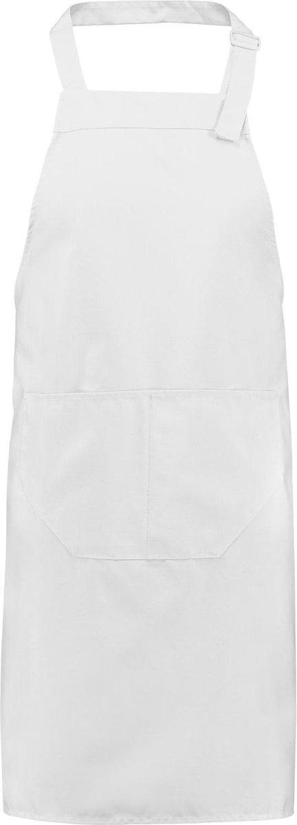 Benza Schort Keukenschort Neutraal, Blanco - Wit (70 x 85 cm) Standaard Kwaliteit