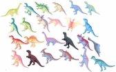 Dinosaurus speelset 12x stuks - Dino speelgoed figuren in zakjes