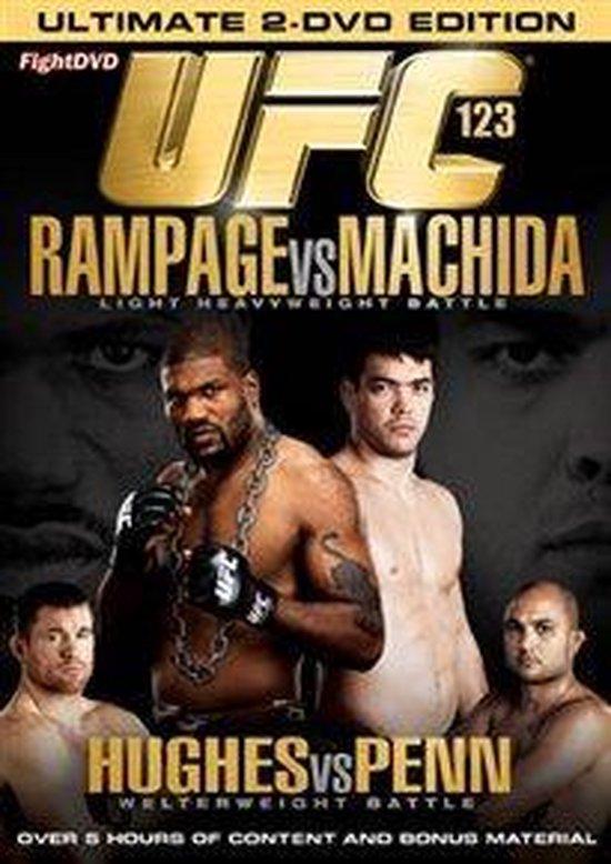 Cover van de film 'UFC 123 - Rampage vs. Machida'