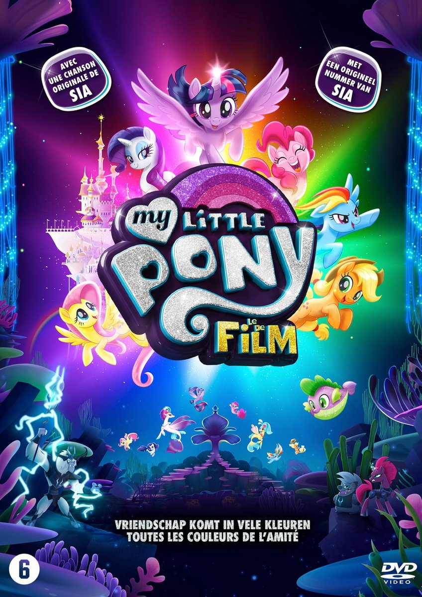My Little Pony: De Film - Animation