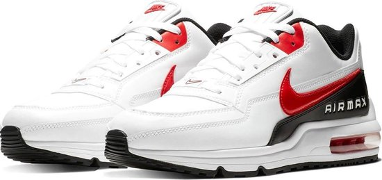 Nike Air Max LTD 3 Heren Sneakers - White/Univ Red-Black - Maat 40