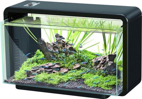 SuperFish Home Aquarium - 46,5 x 25 x 28,5 cm - 25 L - Zwart