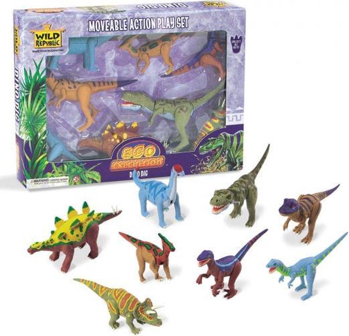 Dinosaurus speelgoed set - Wild Republic