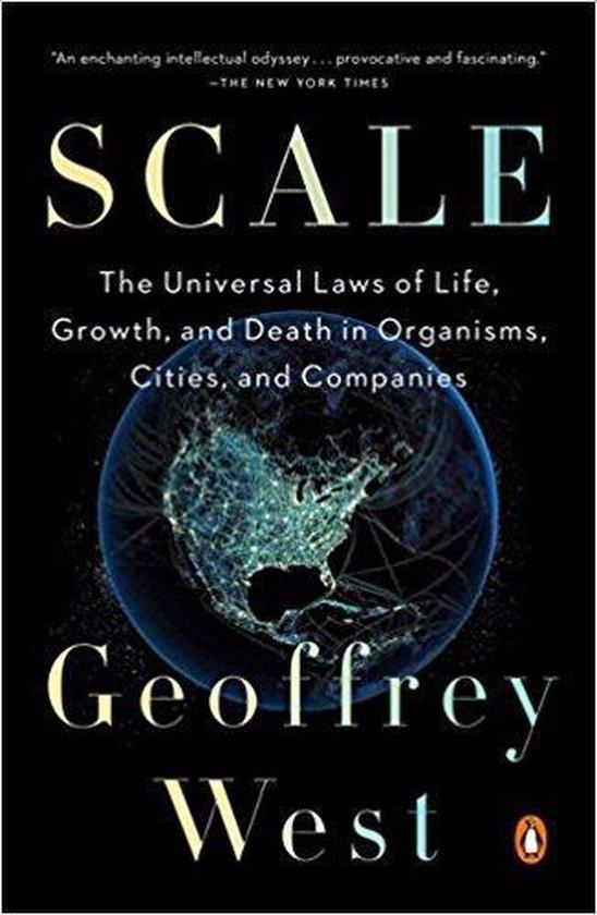 Boek cover Scale van Geoffrey West (Paperback)
