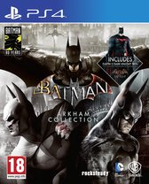 Batman: Arkham Collection - PS4 (Steelbook)