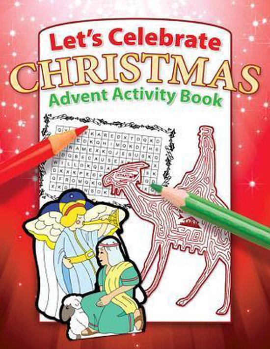 Let's Celebrate Christmas Advent Activity Book