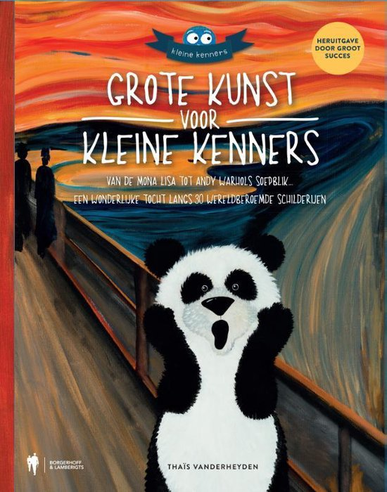 Boek cover Grote kunst voor kleine kenners van Thaïs Vanderheyden (Hardcover)