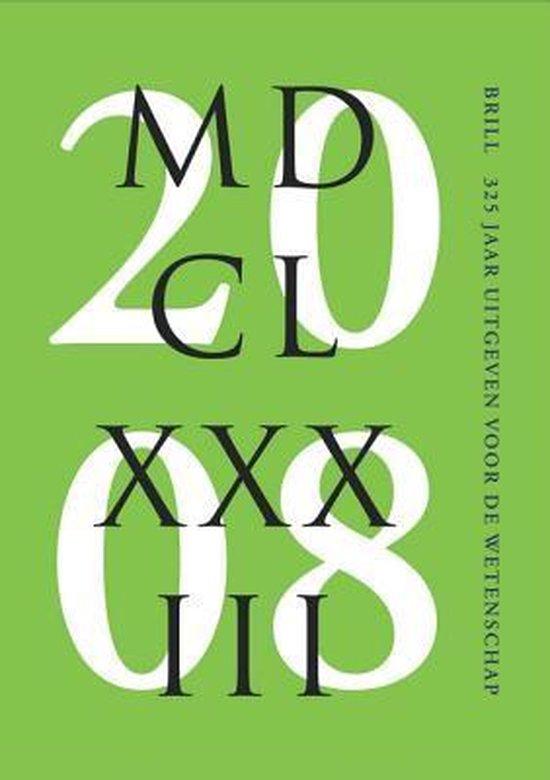 Boek cover Brill - 325 jaar uitgeven in dienst van de wetenschap van Sytze van der Veen (Paperback)
