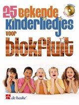 25 bekende kinderliedjes voor blokfluit