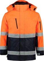 Tricorp Parka EN471 bi-color - Workwear - 403004 - fluor oranje / navy - Maat L