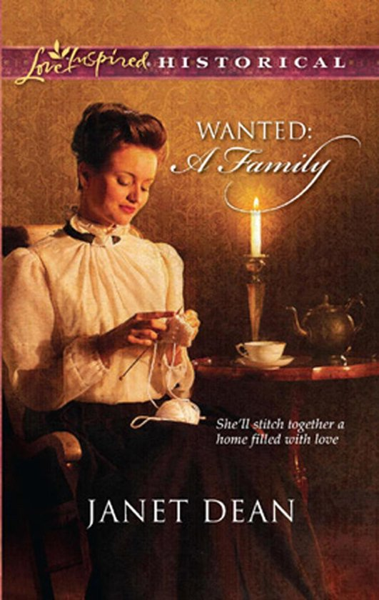 Boek cover Wanted: A Family (Mills & Boon Historical) van Janet Dean (Onbekend)