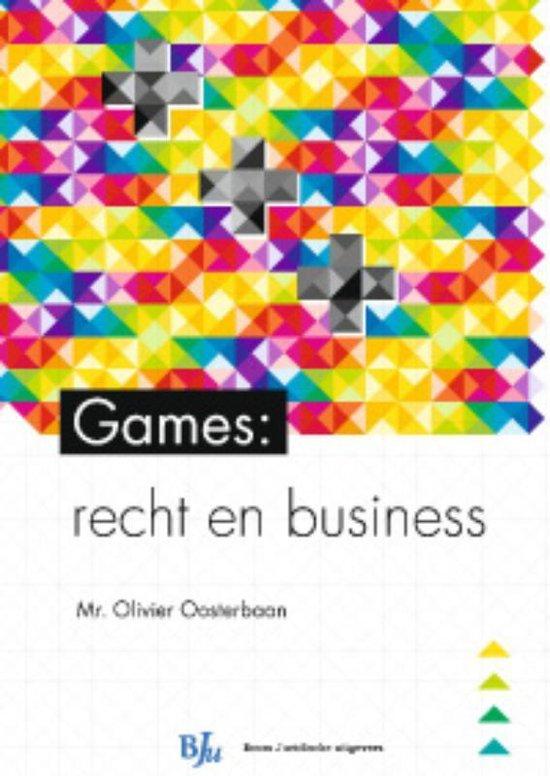 HBO-reeks - Games: recht en business