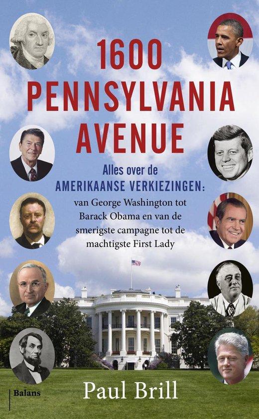 Boek cover 1600 Pennsylvania Avenue van Paul Brill (Onbekend)