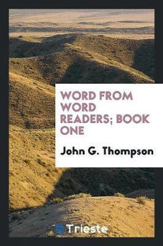 Word from Word Readers; Book One