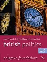 Boek cover British Politics van Robert Leach