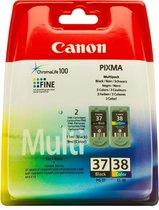 Canon PG-37/CL-38 - Inktcartridge / Zwart / Kleur