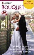 Gelukkige vergissing / Romantiek in de rimboe / Roekeloos avontuur - Bouquet Favorieten 447, 3-in-1