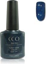 Cco Shellac-Midnight Swimm-Nachtblauw Met Een Lichte Shimmer- Gel Nagellak