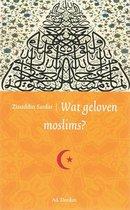 Wat geloven Moslims?