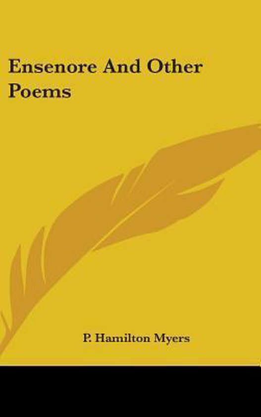 ENSENORE AND OTHER POEMS