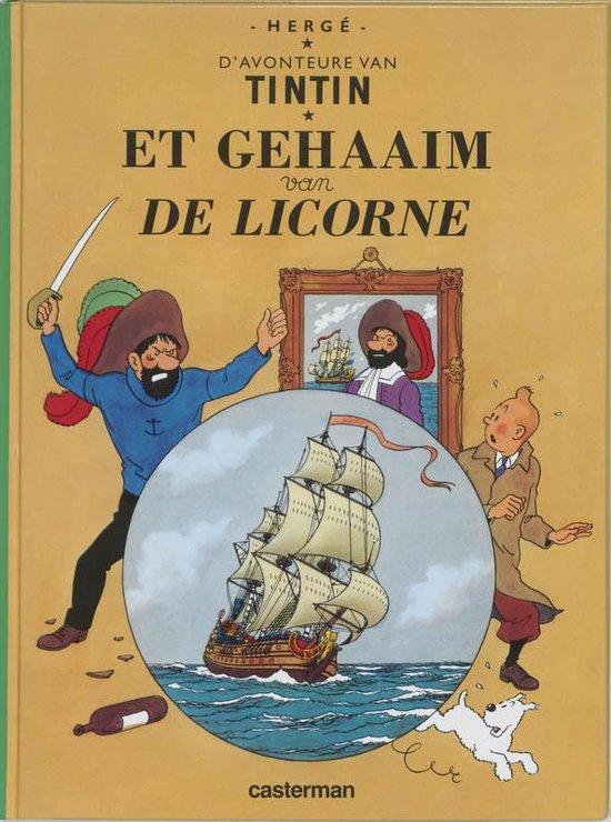 Kuifje dialect Het geheim van de eenhoorn (Brussels) - Hergé |