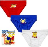 Pokémon - Pikachu Kinder 3 Pack Slips 10/12 Jaar