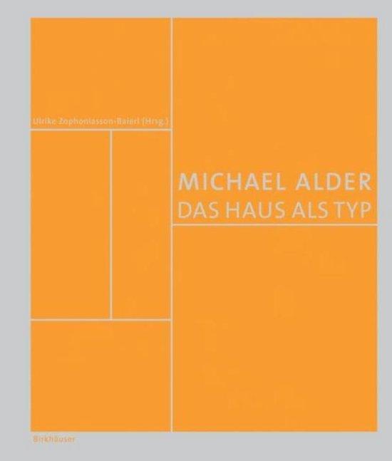 Cover van het boek 'Michael Alder- Das Haus als Typ'