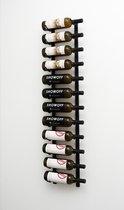 """VintageView """"Twelve"""" Wijnrek - 122 cm hoog - Zwart - 12 flessen"""